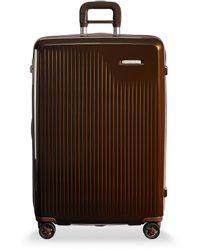 Briggs & Riley Sympatico Large Expandable Spinner Suitcase – Bronze - Multicolour