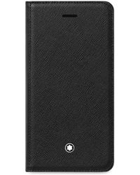 Montblanc - Flipside Saffiano Leather Iphone 8 Case - Lyst