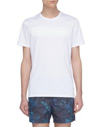 Danward 'Summer State of Mind' slogan print T-shirt - Blanco