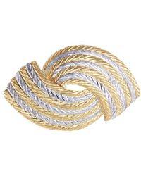 Buccellati 'orocoll' 18k Gold Brooch - Metallic