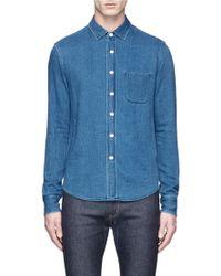 Simon Miller - 'arcata' Cotton Twill Shirt - Lyst