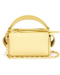 Wandler - 'yara' Mini Leather Top Handle Box Bag - Lyst