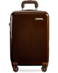 Briggs & Riley Sympatico Carry-on Expandable Spinner Suitcase – Bronze - Multicolour