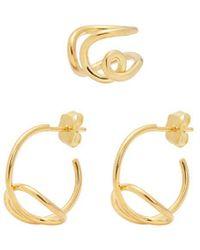 Joanna Laura Constantine - 'knot' Earrings Set - Lyst