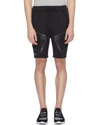 Dyne 'renzo' Mesh Pocket Water-resistant Running Shorts - Black