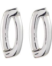 Philippe Audibert 'fany' Cutout Drop Earrings - Metallic