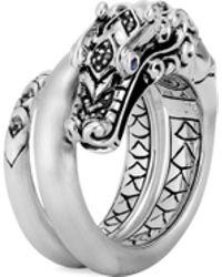 John Hardy - 'legends Naga' Sapphire Spinel Silver Ring - Lyst