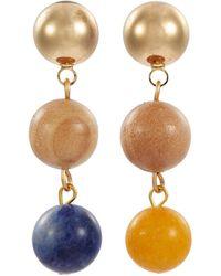 Sophie Monet - 'the Droplet' Bead Drop Earrings - Lyst