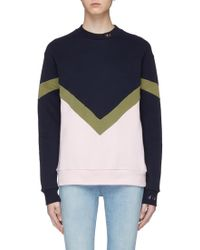 Être Cécile - Colour-block Sweatshirt - Lyst