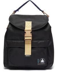 Lanvin Duvet' Nylon Backpack - Black