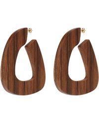 Sophie Monet - 'the Bell' Geometric Hoop Earrings - Lyst