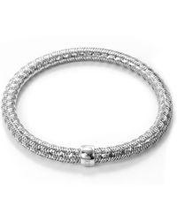 Roberto Coin - 'primavera' 18k White Gold Bracelet - Lyst