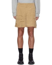 Wooyoungmi Detachable Pocket Cargo Shorts - Brown