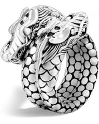 John Hardy - 'legends Naga' Silver Coil Ring - Lyst