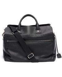 CONNOLLY Medium Leather Sea Bag - Black