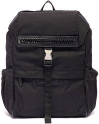 Stella McCartney - Curb Chain Trim Logo Strap Mini Backpack - Lyst 0df5b47bfabea