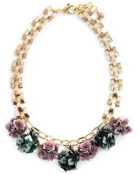 Lulu Frost - 'rumba' Sequin Pompom Chain Necklace - Lyst