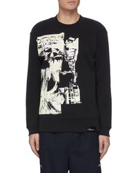 3.1 Phillip Lim Postcard Print Sweatshirt - Black