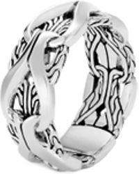 John Hardy - 'asli Classic Chain' Silver Ring - Lyst