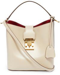 Mark Cross 'murphy' Small Leather Bucket Bag - Multicolour