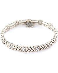 Philippe Audibert 'fillan' Swarovski Crystal Bracelet - Metallic