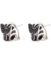 John Hardy - Sapphire Spinel And Topaz Macan Earrings - Lyst