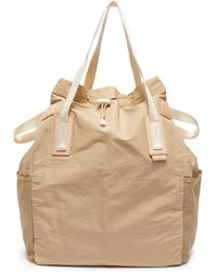 Hender Scheme Drawstring Tote Bag - Natural