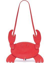 Thom Browne - Leather Crab Crossbody Bag - Lyst