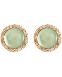 Roberto Coin - 'cocktail' Diamond Quartz 18k Rose Gold Earrings - Lyst
