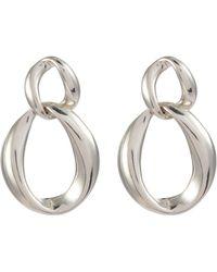 Philippe Audibert - 'marinette' Interlocking Hoop Drop Earrings - Lyst