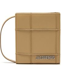 Jacquemus Le Gadjo' Pipe Seam Logo Embellished Pouch - Brown