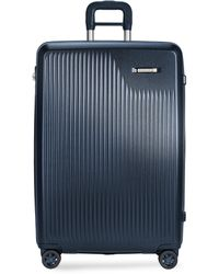 Briggs & Riley Sympatico Large Expandable Spinner Suitcase – Matte Navy - Blue