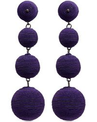 Kenneth Jay Lane - 'carnival' Threaded Sphere Drop Earrings - Lyst