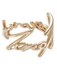 Stephen Webster - 'more Passion' 18k Yellow Gold Scribble Ring - Lyst