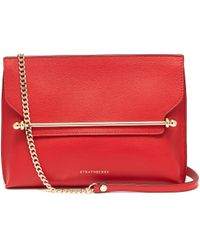 Strathberry - 'east/west Stylist' Leather Clutch - Lyst