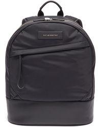 Want Les Essentiels De La Vie 'kastrup' Leather Backpack - Black