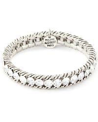 Philippe Audibert 'anita' Swarovski Crystal Bracelet - Metallic