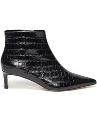 602bb8c856f Acne Studios Bethany Leather Ankle Boots in Black - Lyst