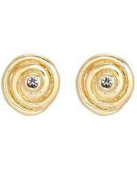 Elizabeth and James | 'reeves' Topaz Stud Earrings | Lyst