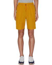 Nanamica Elasticated Easy Shorts - Orange