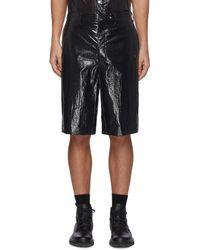 Karmuel Young 'cuboid' Nylon Tailored Shorts Men Clothing Pants & Shorts Shorts 'cuboid' Nylon Tailored Shorts - Black