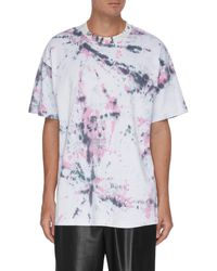 Angel Chen Tie Dye Print T-shirt - Multicolor