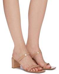 BY FAR - 'tanya' Patent Leather Sandals - Lyst