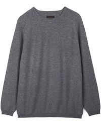 Oyuna Cashmere Travel Sweater S/m – Gray