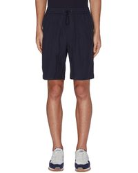 Nanamica Elasticated Easy Shorts - Blue