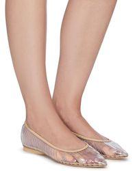 Cult Gaia 'leena' Point Toe Woven Cage Flats Women Shoes Flats Point Toes 'leena' Point Toe Woven Cage Flats - Multicolor
