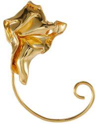 MISHO Cascade' Gold Plated Ear Cuff Women Accessories Fashion Jewelry Earrings Cascade' Gold Plated Ear Cuff - Metallic