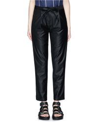 Ffixxed Studios - 'communal' Bamboo Belted Trousers - Lyst