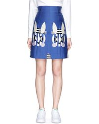 Helen Lee - 'bad Bunny' Jacquard High Waist Skirt - Lyst