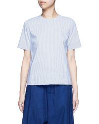 Ffixxed Studios - 'daniel' Stripe Cotton Shirt - Lyst
